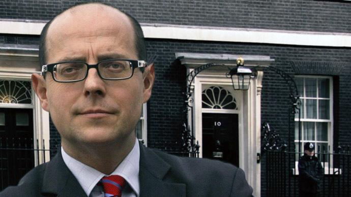 BBC Political Editor Nick Robinson (Photo from Twitter/@bbcnickrobinson)