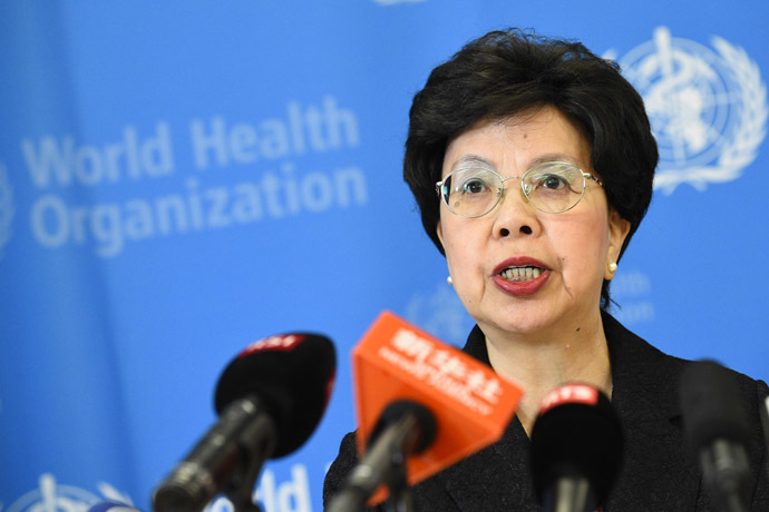 World Health Organization (WHO) Director-General Dr. Margaret Chan (AFP Photo)