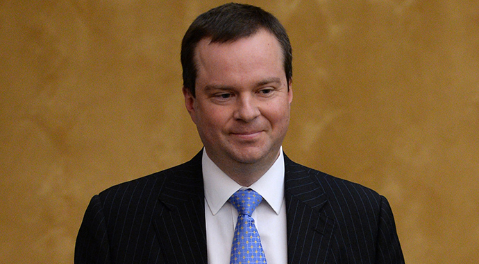 Deputy Finance Minister Alexey Moiseyev (RIA Novosti / Vladimir Fedorenko)