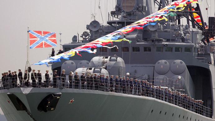 Admiral Levchenko.(AFP Photo / John D Mchugh )