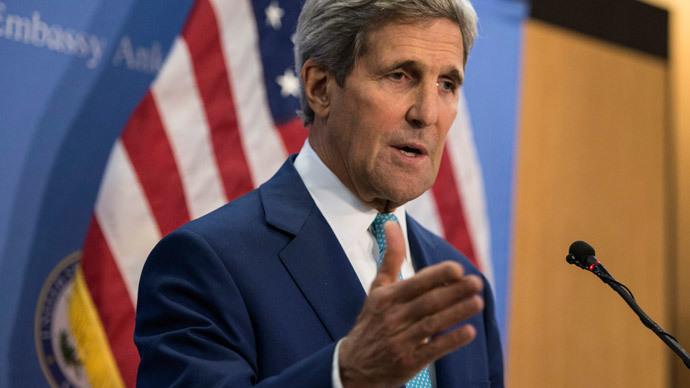 US Secretary of State John Kerry.(AFP Photo / Brendan Smialowski)