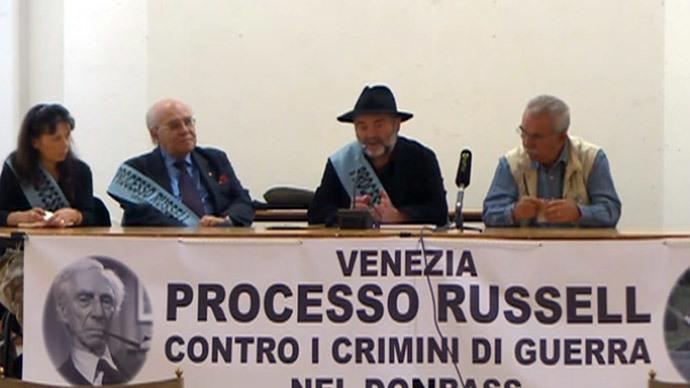 Guilty! 'Russell Tribunal' condemns Obama, Poroshenko 'war crimes' in E.Ukraine