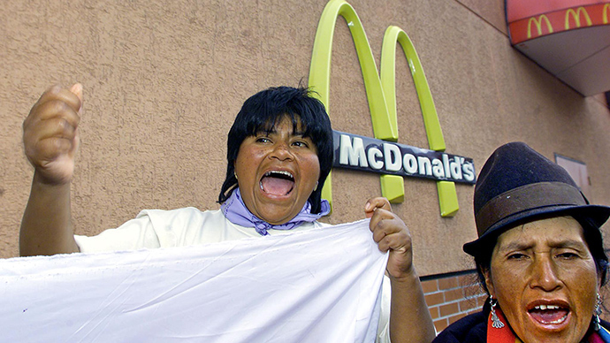 'Want to make yourself sick with McDonald's? Pay more!' Ecuador to introduce fast food tax