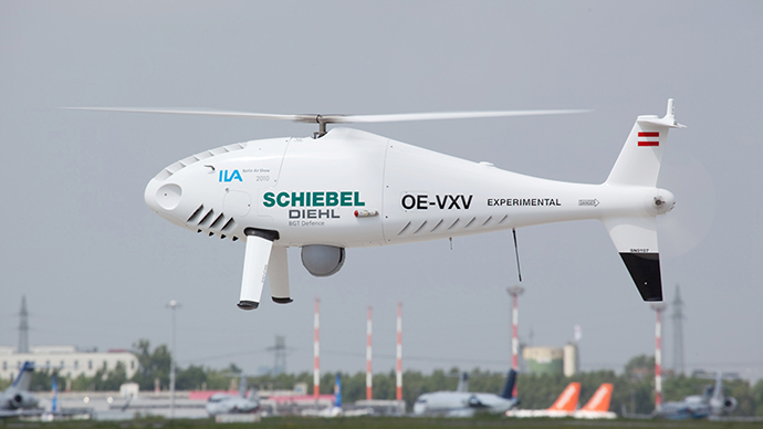 Schiebel's unmanned aerial vehicle Camcopter S-100 (AFP Photo / HO)