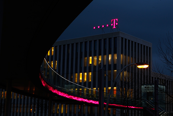 The headquarters of Deutsche Telekom AG in Bonn, Germany (Reuters / Ina Fassbender)