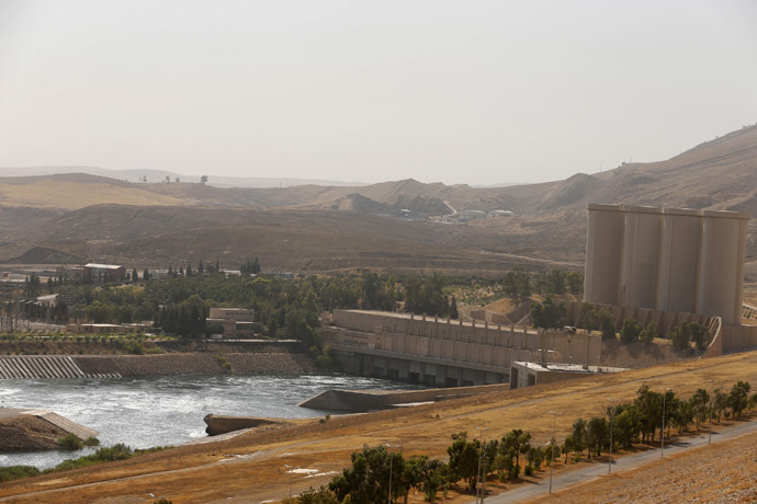 A general view is seen of Mosul Dam in northern Iraq (Reuters/Youssef Boudlal)
