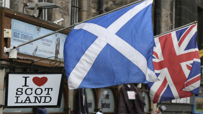 Investors pull $27bn out of UK in one month amid fears of Scotland's exit – report