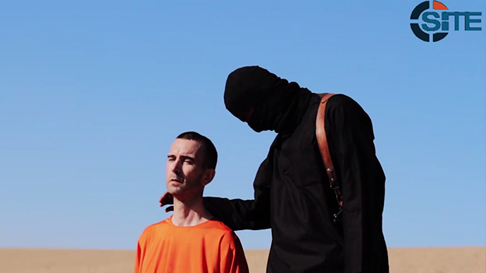Islamic State claims execution of UK hostage David Haines, releases video Published time: September 13. (AFP Photo / HO)