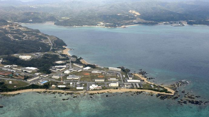 Okinawa Island. (Reuters/Kyodo)