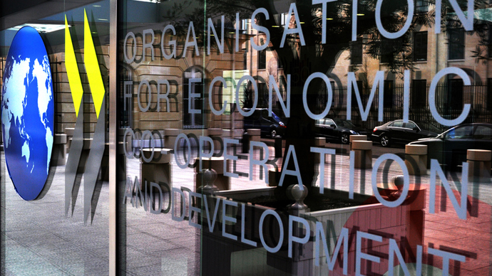 OECD cuts 2014 growth forecast for advanced economies