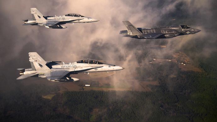 Washington moots possible airstrikes on Syria's air defenses