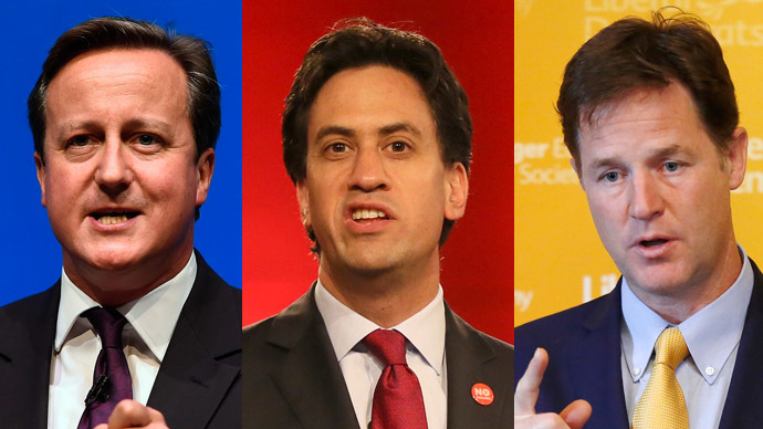 Power play: UK leaders pledge further devolution if Scots vote 'No'