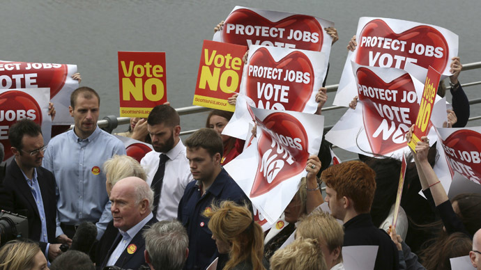 'End intimidation of journalists covering Scottish referendum' – trade union leader