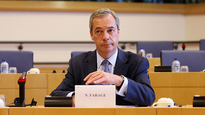 'Putin on our side': Farage demands West work with Moscow to defeat ISIS