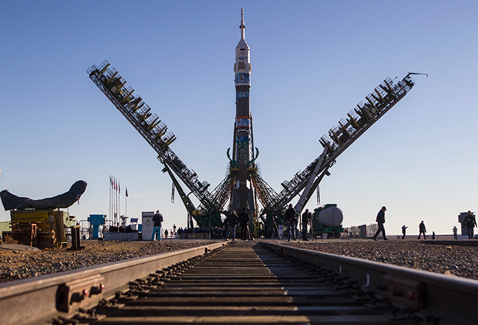 The Soyuz TMA-11M spacecraft (Reuters / Shamil Zhumatov)
