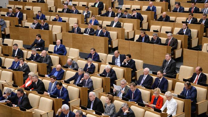 Duma seeks limits on foreign ownership of Russian media companies
