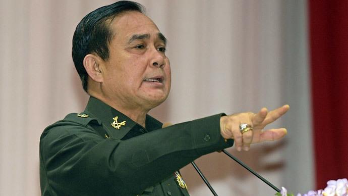 Thailand's Prime Minister and Army chief General Prayut Chan-O-Cha.(AFP Photo / Pornchai Kittiwongsakul)