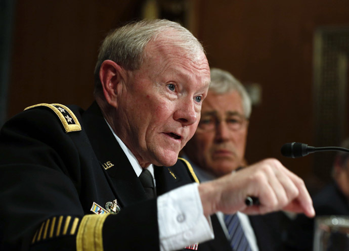 Chairman of the Joint Chiefs Gen. Martin Dempsey (Reuters/Larry Downing)