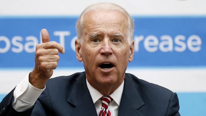 Creepy Veep: Joe Biden chalks up another sensational 'snuggle'