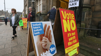 11 arrested as clashes erupt in Glasgow after 'No' independence vote