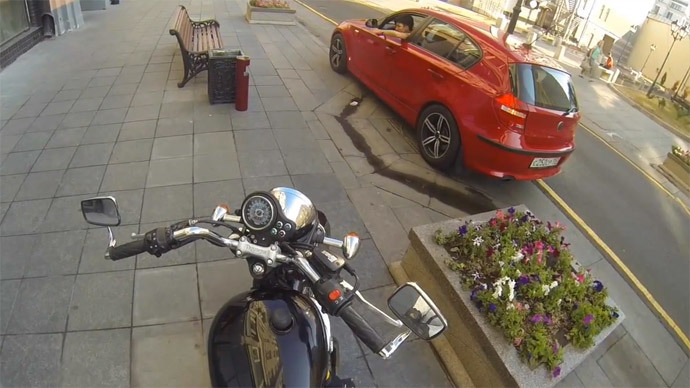 Breathtaking & viral: Death-defying bike ride on Scottish ridge scores over 3mn views (VIDEO)