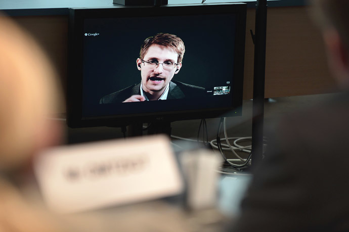 US National Security Agency (NSA) whistleblower Edward Snowden (AFP Photo / Frederick Florin)