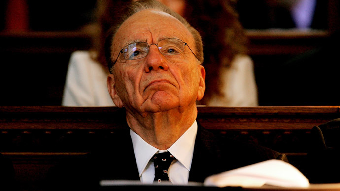 Rupert Murdoch.(Reuters / Dylan Martinez)