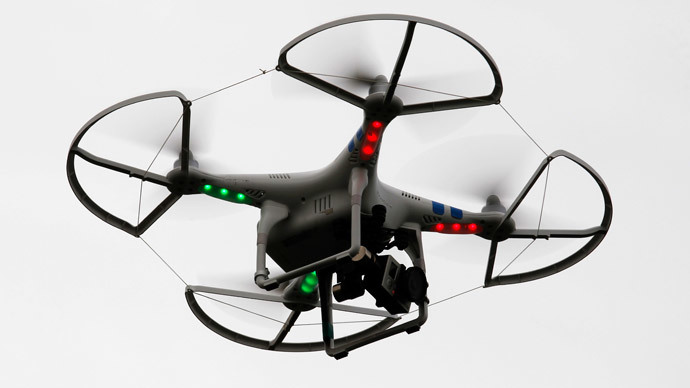 Drone nearly collides with NYPD helicopter, man arrested