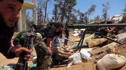 Relics for rifles: Syrian rebels trade antique treasures for weapons (VIDEO)