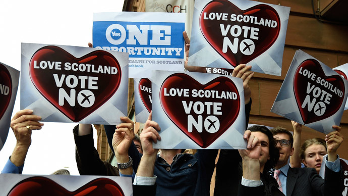 Stock markets, Sterling rejoice as Scotland votes 'No'