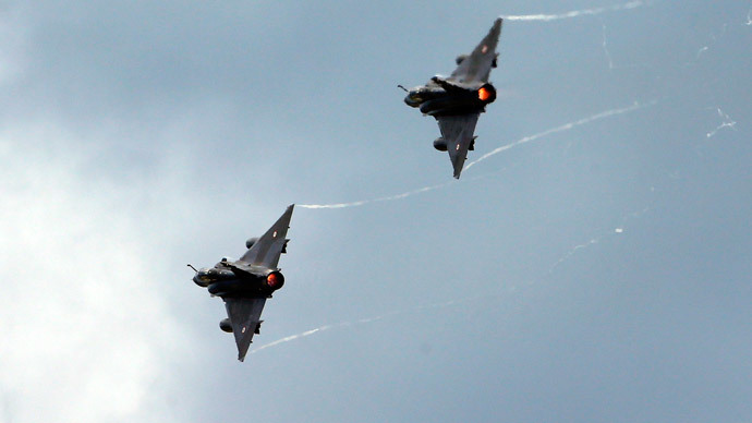 France launches first strike against ISIS in Iraq
