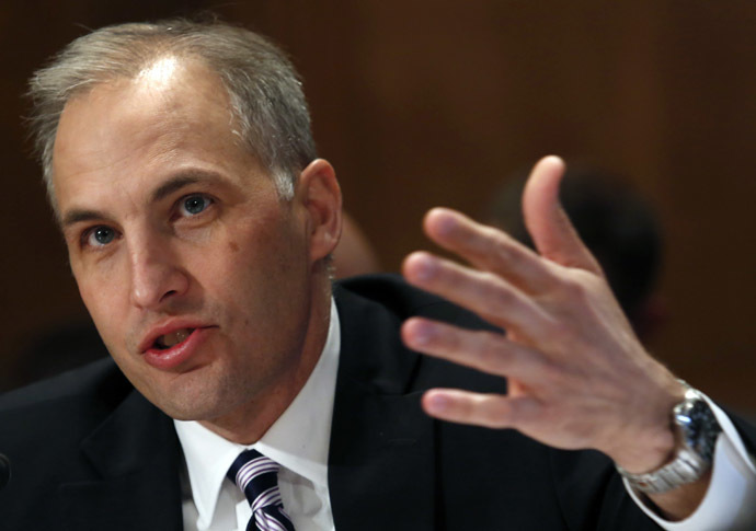 Matthew Olsen, director of the U.S. National Counterterrorism Center. (Reuters/Yuri Gripas)