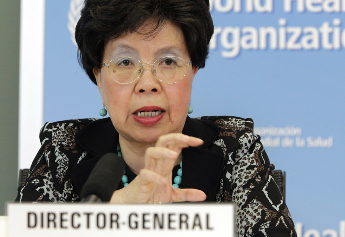 WHO Director-General Margaret Chan (Reuters/Pierre Albouy)