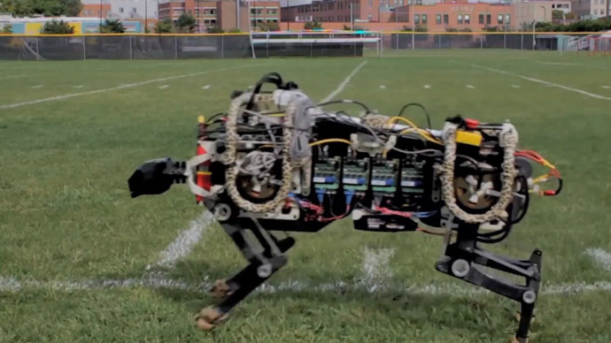 Usain Robot? MIT sprinting droid cat can bolt up to 30mph (VIDEO)