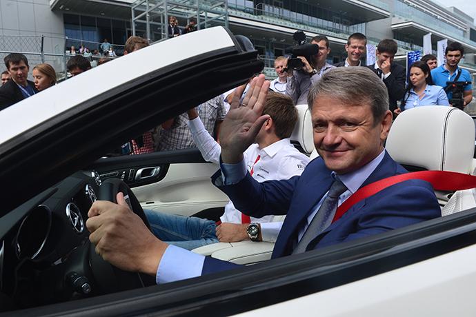 Krasnodar governor Aleksandr Tkachev (RIA Novosti / Alexey Kudenko)