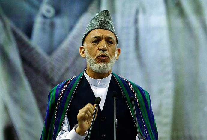 Outgoing Afghan President Hamid Karzai (Reuters / Omar Sobhani)