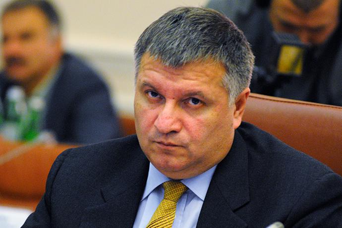 Ukraine's Interior Minister Arsen Avakov (RIA Novosti / Alexandr Maksimenko)