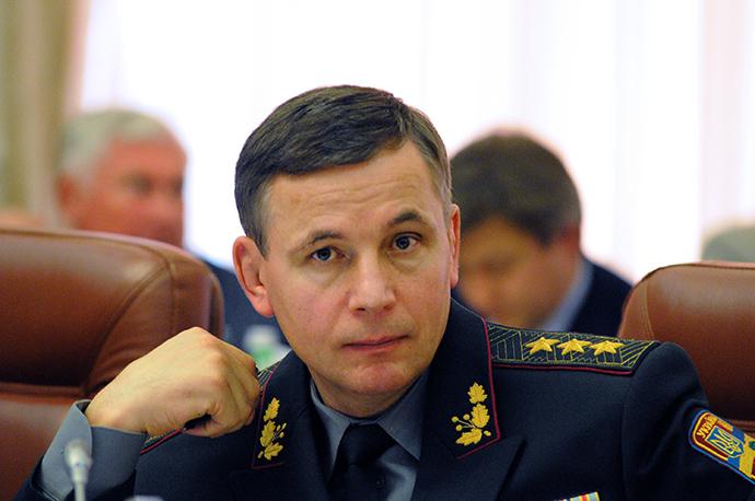 Ukraine's Defense Minister Valery Geletey (RIA Novosti)