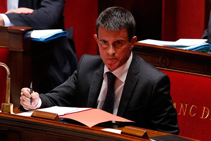 French Prime Minister Manuel Valls (Reuters / Benoit Tessier)
