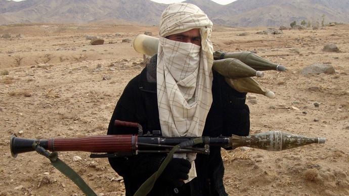 Al-Qaeda fighter (AFP Photo)