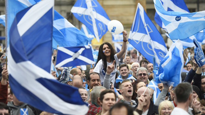 Pro-independence Scots launch new '45%' campaign