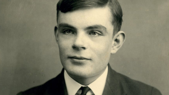 Alan Turing (image from http://pme2013.blogspot.ru/)