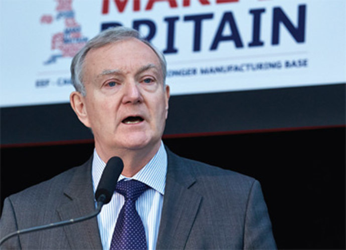 The EEF's chief executive, Terry Scuoler, warns against Britain leaving the EU, claiming such a move could hinder investment and wealth creation. (Image from eef.org.uk)