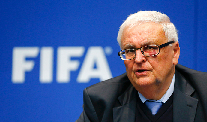 Theo Zwanziger, former president of the German Football Association (DFB) and member of the FIFA's executive committee (Reuters / Arnd Wiegmann)