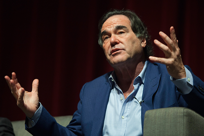 U.S. film director and screenwriter Oliver Stone (Reuters / Ana Martinez)