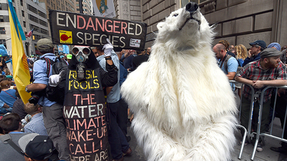 Flood Wall Street ends with mass arrests after day-long protest (PHOTOS)
