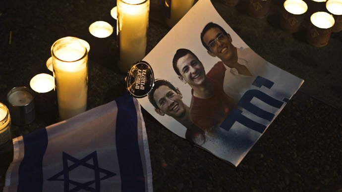 IDF: Suspects in 3 Israeli teens' kidnapping killed
