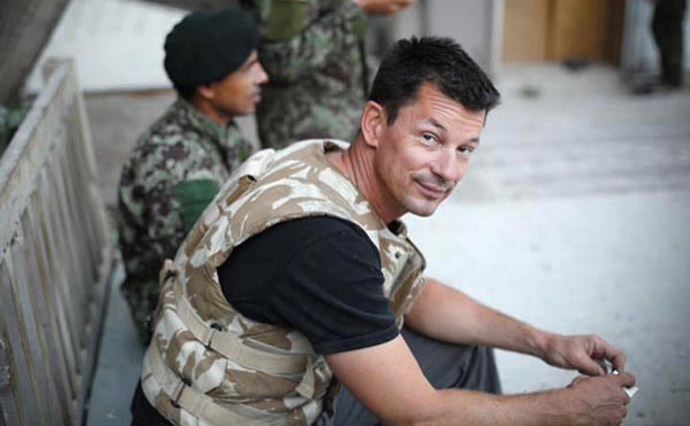 British journalist John Cantlie in the Pech valley, Afghanistan, in June 2012 (Credit: SA 3.0/Futurenet1977)