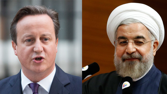 ​Cameron and Iran's Rouhani to discuss anti-ISIS strategy at historic meeting