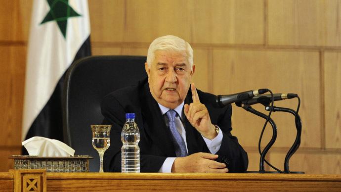 Syria's Foreign Minister Walid al-Moualem. (Reuters/Omar Sanadiki)